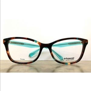 Polaroid Core Eyeglasses D320 Havana with Blue